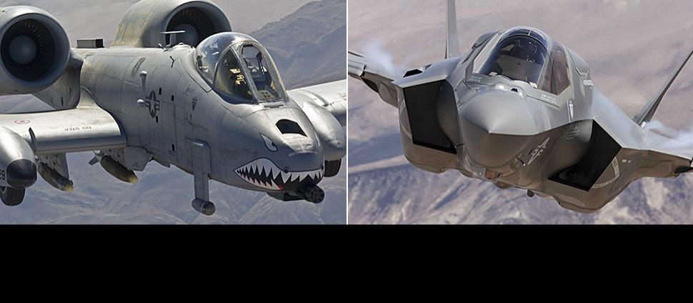 Zdecyduje powietrzna batalia. Legendarne Guźce będą walczyły z F-35 o przetrwanie