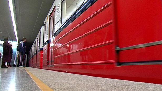 Pasażer został zatrzymany w metrze TVN24