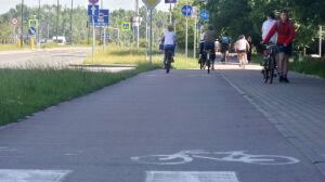 Radna: rowerzyści jeżdżą za szybko, zamontujmy progi zwalniające