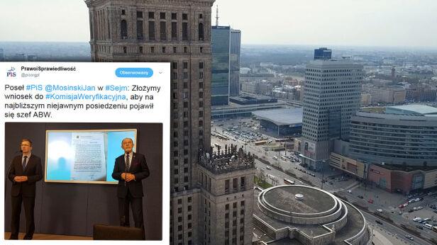 Posłowie PiS apelują o infromację służb specjalnych ws. reprywatyzacji Archiwum TVN, pisorgpl / Twitter