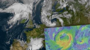 Były huragan Dorian zagraża Wielkiej Brytanii, powoli zbliża się też do Polski