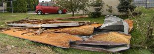 Ofiara śmiertelna, ranni. Wiatr wyrywał drzewa i zrywał dachy z budynków