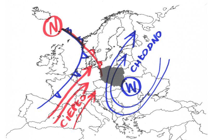 Do Polski napłynie ciepłe powietrze