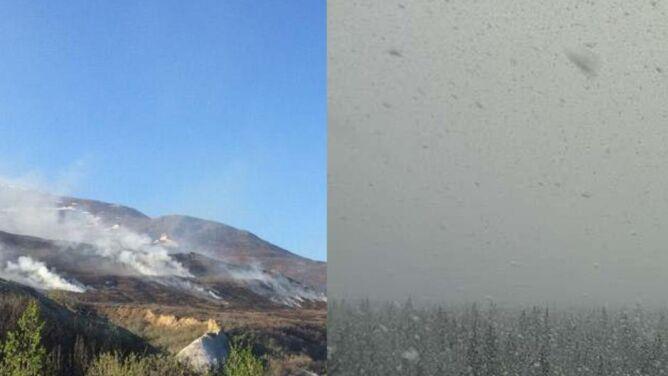 Anomalie pogodowe na Alasce. Rekordowe upały, zaraz po nich powrót mroźnej zimy